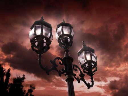 Antique lamp post Stock Photo - 4433036
