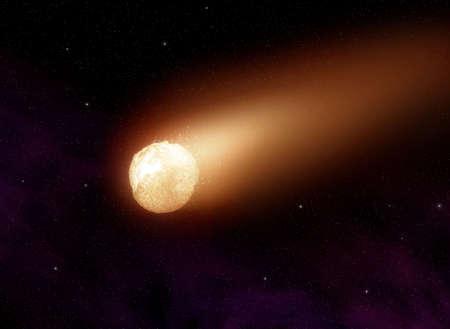 Comet Stock Photo - 4550513
