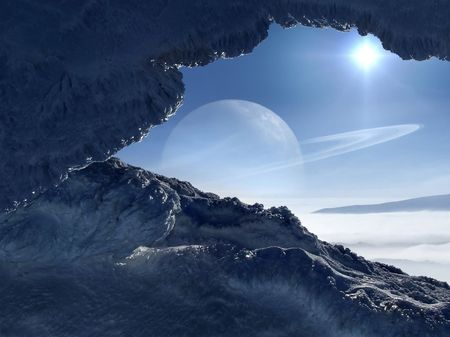 alien planet: World of ice