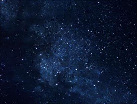 noche estrellada: Fondo de espacio
