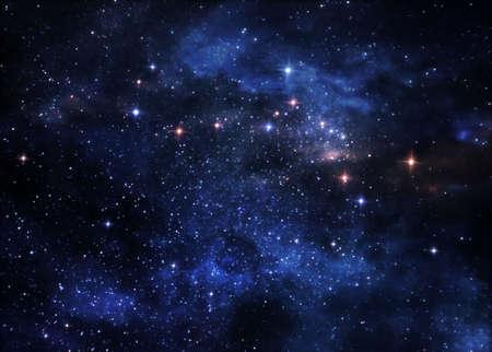 Deep space nebulae photo