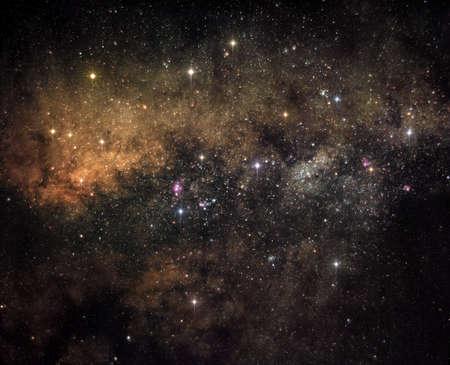 Heart of Milky Way galaxy Stock Photo - 9629289