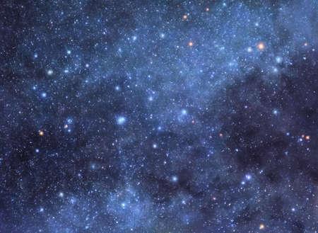 cielo estrellado: Cielo estrellado de fondo