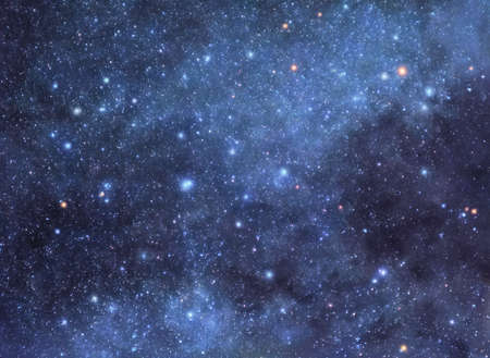 Starry sky background photo