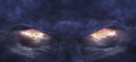 demonio: Ojos del diablo