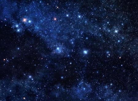 Deep space edelstenen Stockfoto