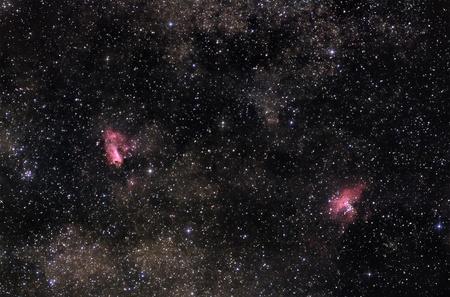 nebulae: Nebulae of Milky Way