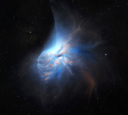 Quaint looking nebula shines in deep space
