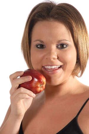 Apples make a health diet. photo