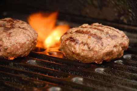 Outside grilling season. Stock Photo