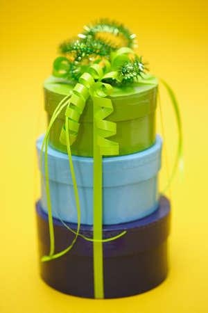 generosidad: Cajas de regalo pile