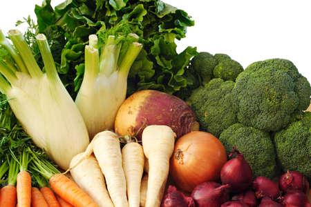 living things: Winter vegetables