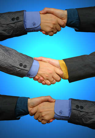 Many business deals photo