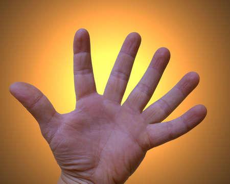 modification: Hand of gud?? (six fingers)