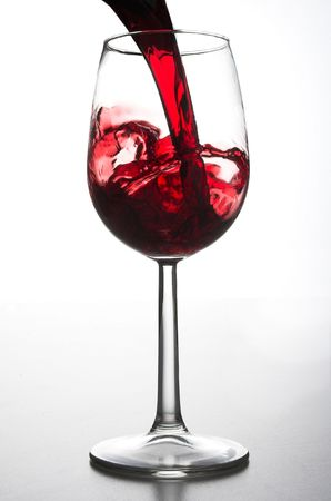 Pouring a glass of wine Stock Photo - 689449