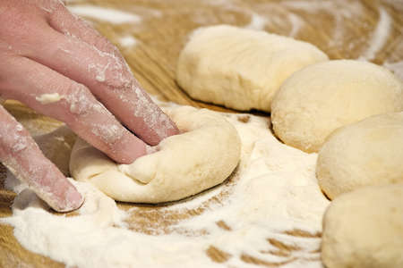 Bread Dough Stock Photo
