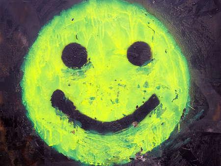 clack: Green Smiley