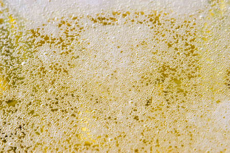 froth: Beer Froth Stock Photo