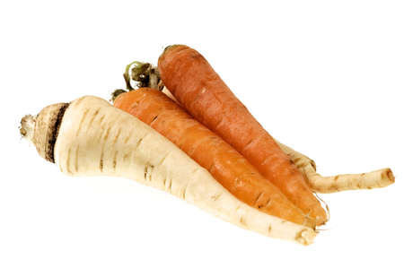 Carrots and Parsnips Stock Photo - 2497829