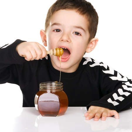 diet product: boy and honey