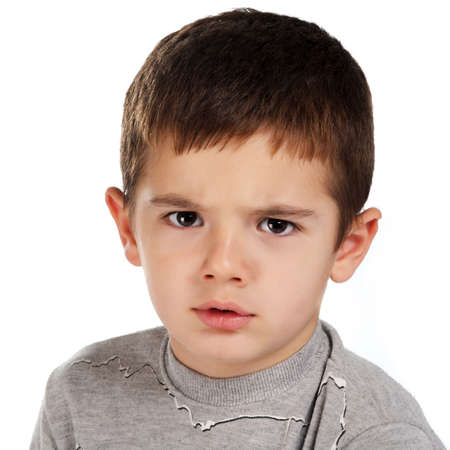 angry boy Stock Photo - 9050217