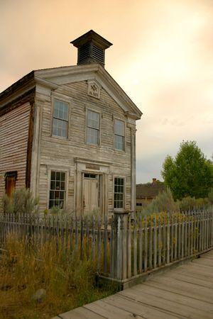 Masonic Lodge located in historic Bannack Montana Stock Photo - 400916