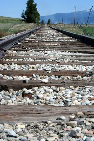 Train Tracks Stock Photo - 400890