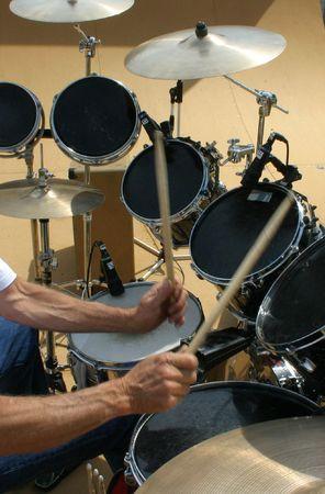 showman: Rock and Roll baterista