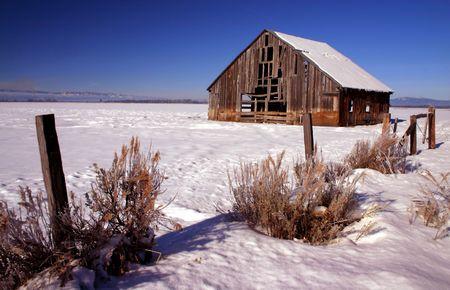 Idaho Barn Stock Photo - 420305