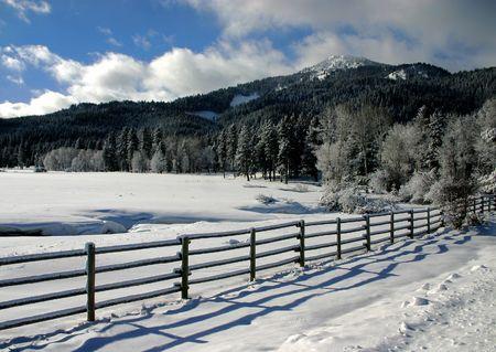 Valley County Idaho Stock Photo