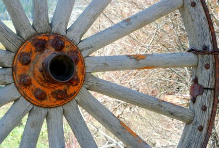 centralized: Old Wagon Wheel