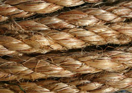waxed: Rope  Foto de archivo