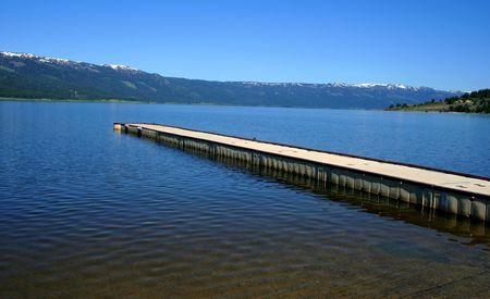 Cascade Lake Idaho Stock Photo