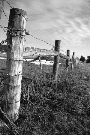 phallic: Rural Idaho  Foto de archivo