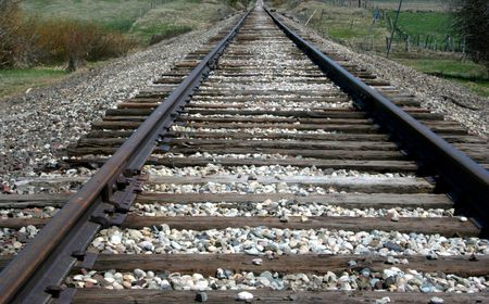 Train Tracks Stock Photo - 440195