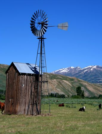 idaho: Rural Idaho Farm Scene