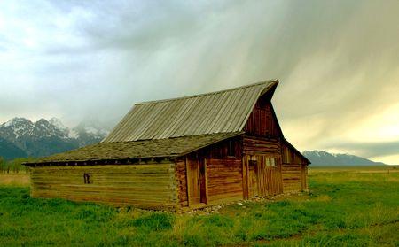 lasting: Historic Wyoming Barn