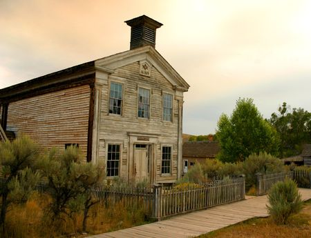 Masonic Lodge, Bannack Montana Stock Photo - 451195