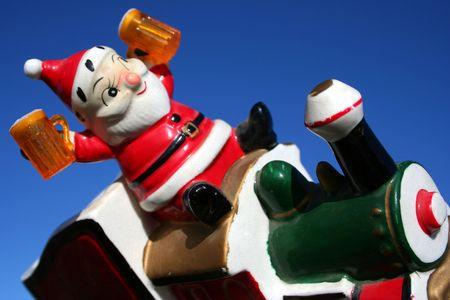 Antique Santa, DUI photo