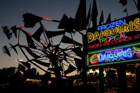 fairs: Frozen Daiquiris and the Fair in Neon