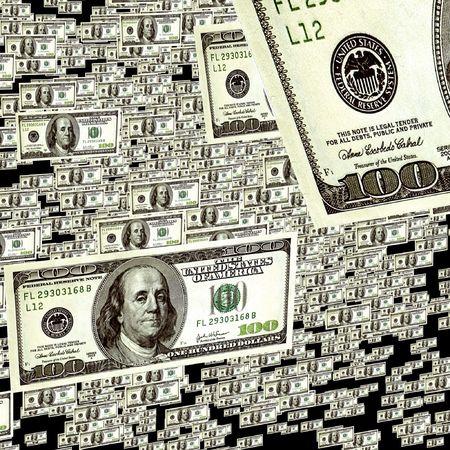 blabbing: background dollar rain