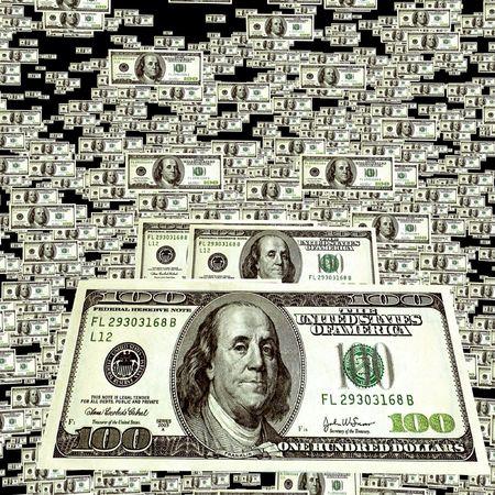blabbing: money background Stock Photo