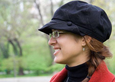 younglady: Woman. Woman look. Woman portrait