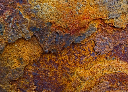 Fragment of background rusty