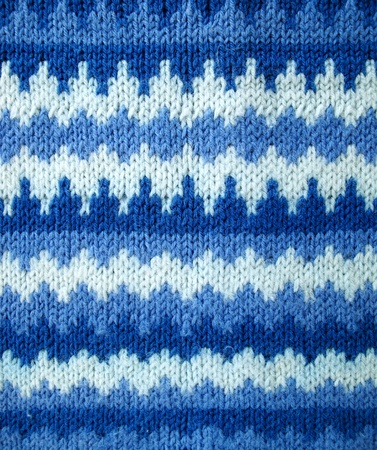 Fragment sweater knitted