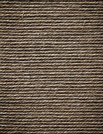 Wall of rope  Stock Photo