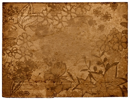 Wallpaper floral for design Stock Photo - 17031376