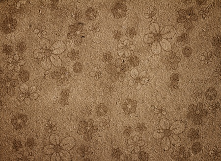 Fragment paper floral