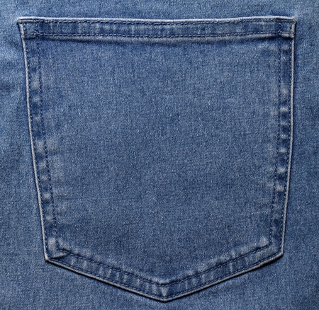 Pocket of jeans  photo
