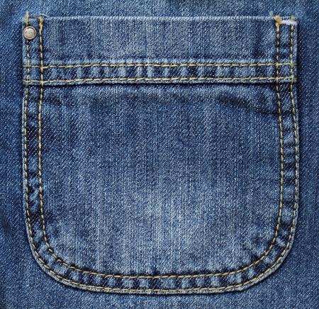 Pocket of jeans  Stock Photo